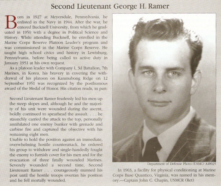 MOH - RAMER, George H.  2nd Lt.jpg